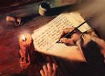 Écriture d'une lettre