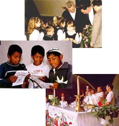 Jeunes, éducateurs, liturgie