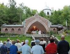 Sanctuaire Notre-Dame de Lourdes à Rigaud