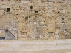 Mur du temps de Jérusalem