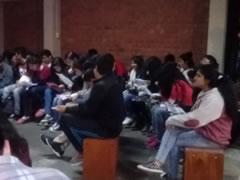 Élèves au Pérou