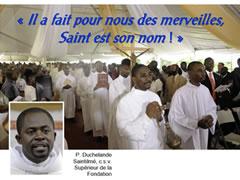 Procession - Célébration eucharistique - Haïti