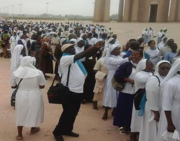 Clôture de l'année de la vie religieuse – Yamoussoukro 2016