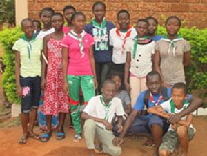 Scouts querbersiens, Burkina Faso