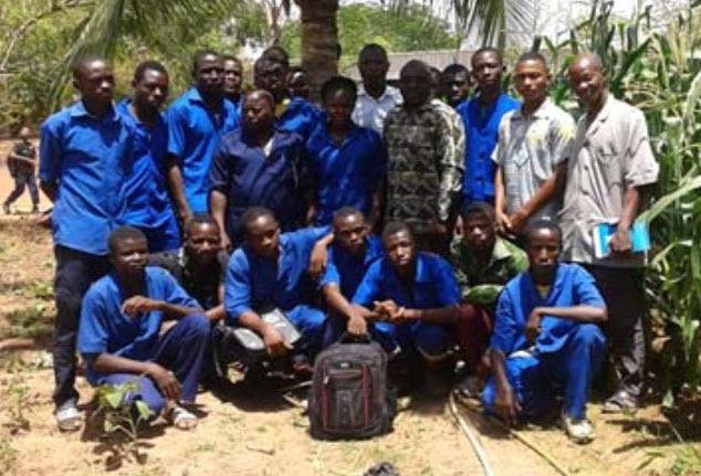 Apprentis et formateurs - Burkina Faso