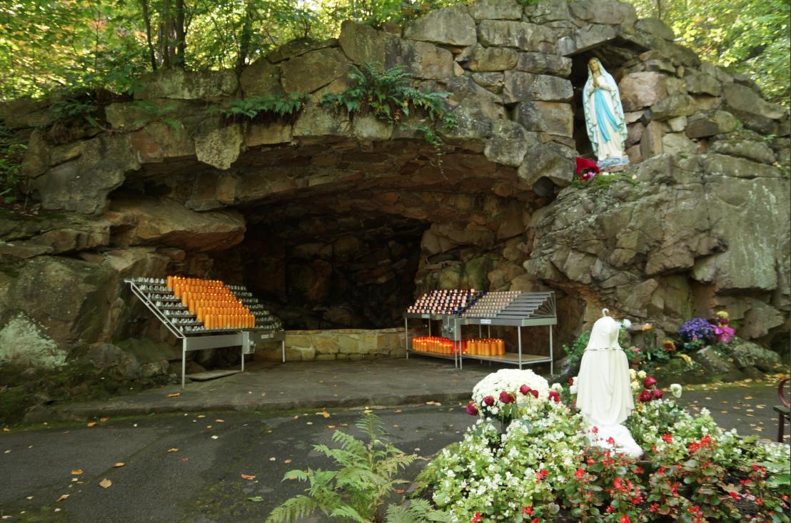 Grotte du Sanctuaire Notre-Dame de Lourdes - Rigaud