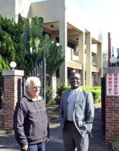 Père Guy Saint-Germain et Père Provincial