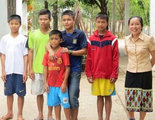Jeunes du Laos