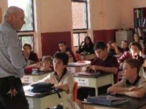 Denis Beaupré et élèves