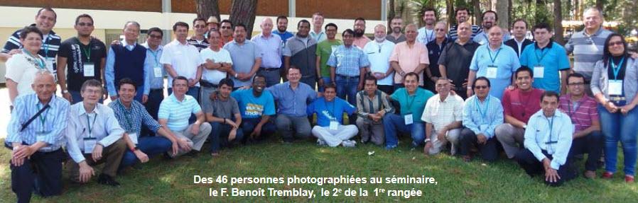 IV e séminaire latino- américain et caribéen des religieux frères (CLAR) sur la thématique Être frère : le biome de la fraternité