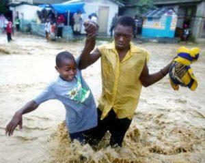 Parent et enfant - Haïti