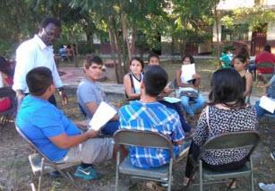 Un viateur ivoirien à Cutervo au Pérou