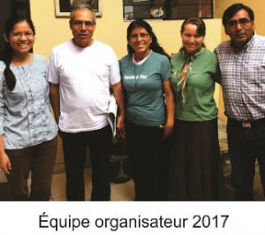 Équipe organisateur 2017