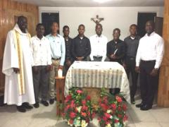 Entrée officielle des postulants à l'Accueil Saint-Viateur en Haïti
