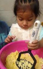 Petite fille péruvienne