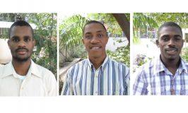 Trois novices Haïti