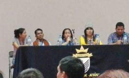 Panel de délégués de l'Institut Bartolomé de Las Casas